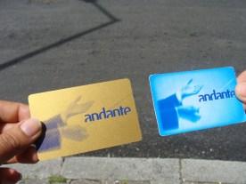 Andante Gold e Andante Azul