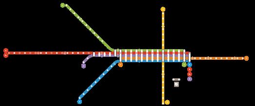 Linhas Metro Porto