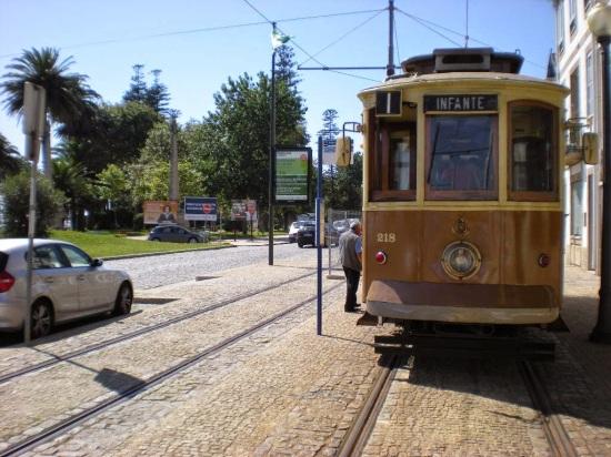 Fotografia de Eléctricos no Porto
