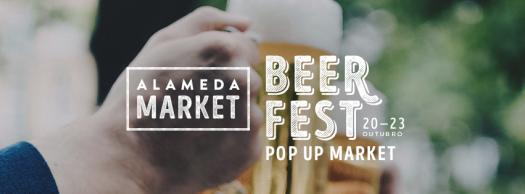 Cartaz do Alameda Market - Beer Fest