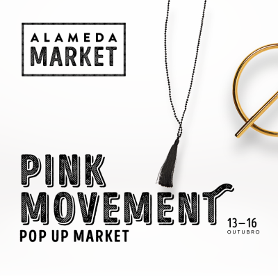 Cartaz do Alameda Market by Pink Movement