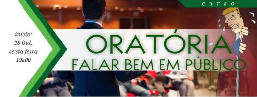 Cartaz de Nova Acrópole - Curso de Oratória