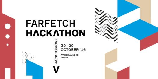 Cartaz do Hackathon - Farfetch