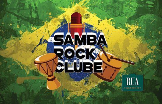 Cartaz de Samba Rock Clube - RUA