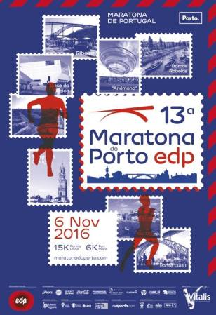 Cartaz de Maratona do Porto EDP